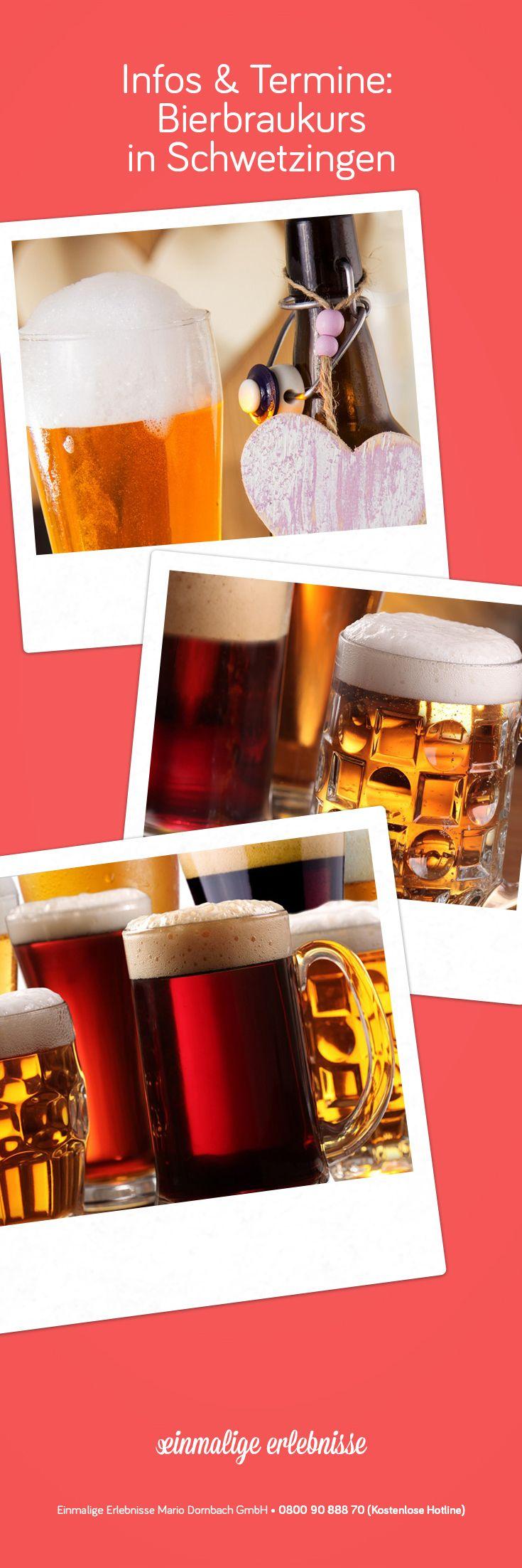 Bierbraukurs in Schwetzingen #Bier #Männer #brauen