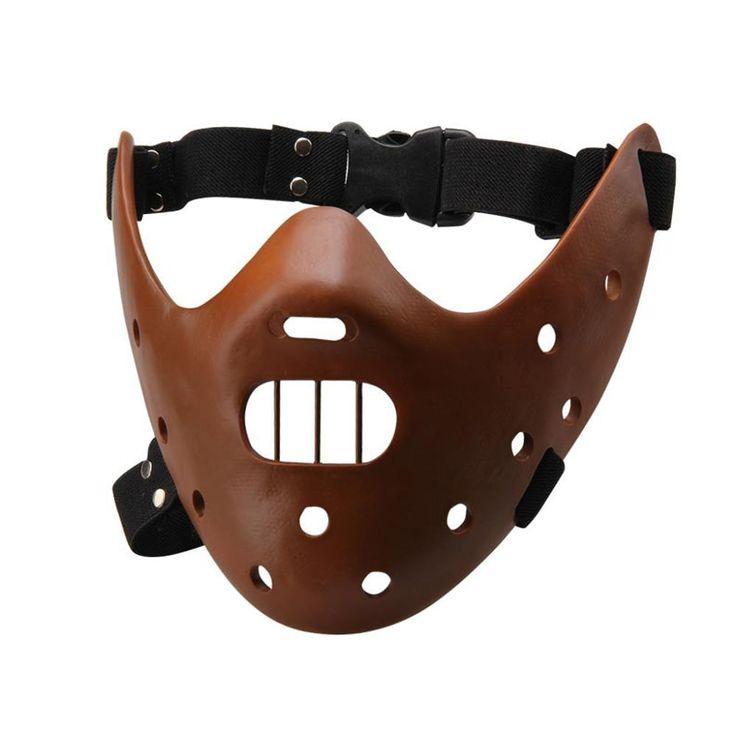 Máscara Hannibal Lecter. El Silencio de los Corderos Máscara fabricada en resina de Hannibal Lecter, utilizada en la película de culto, El silencio de los corderos.