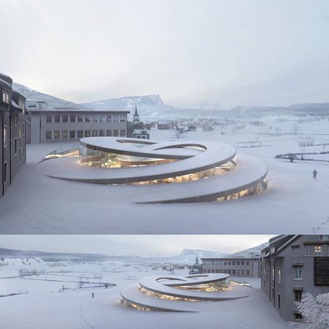 Project: Spiralling Museum Design by BIG Conceived…