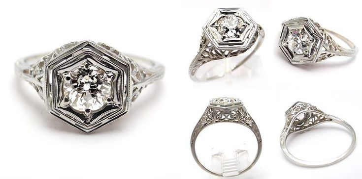 Antique Estate Diamond Rings