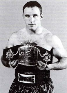 Ricky Nicholson was the first World Champion in any sport for the Royal Welch Fusiliers. During the 1990s he saw service in Northern Ireland and Bosnia, eventually becoming a Lance Corporal. He then worked with the Recruiting Team based in Wrexham.  Nicknamed 'The Tank', his sport was kickboxing and he became WAKO European Super Cruiserweight Champion. .