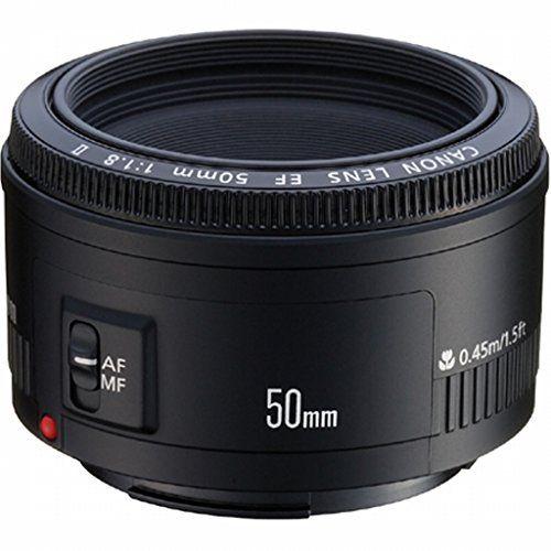 Canon EF 50mm f/1.8 II Standard AutoFocus Lens - Direct Import (Gray Market)