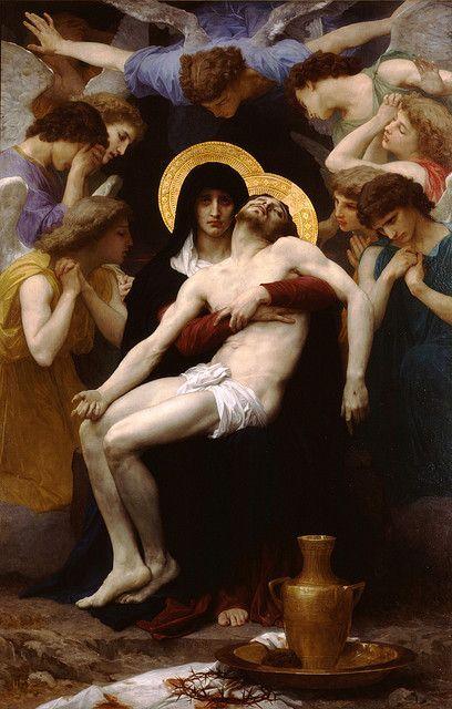 Pieta - William Adolphe Bouguereau