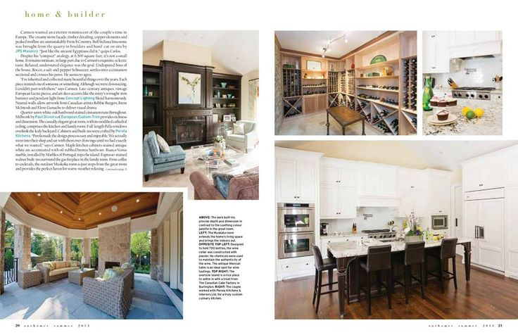PCM - Project and Construction Management Inc. Featured in Our Homes Magazine 2013 Summer Issue, enjoy!!