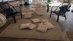 Tapis Sinnerlig Ikea - Un tapis en jonc de mer, sinon rien ! On reste dans la tendance « urban jungle » avec ce grand tapis 100% jonc de mer, idéal pour apporter une touche naturelle et authentique à votre décoration. Tapis (200×300cm) : 69 euros