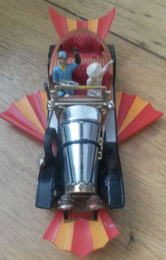 "Corgi Toys Vintage ""Chitty Chitty Bang Bang"" Car with Some Figures"