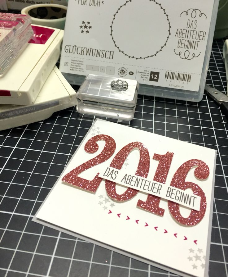 PL Karte für 2016 / neuer Frühjahr-/Sommerkatalog von Stampin' Up!
