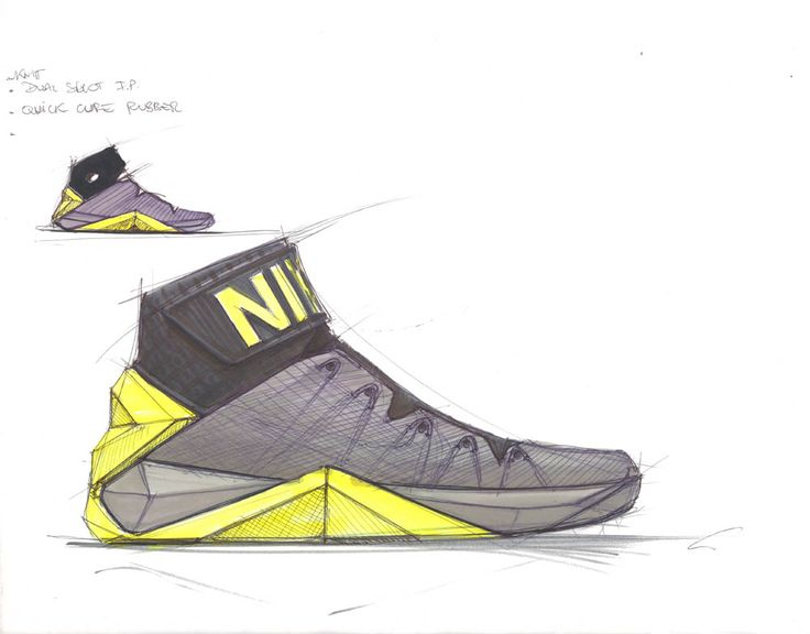 Nike sketching. Product SketchNike BasketballSports ShoesIndustrial ...