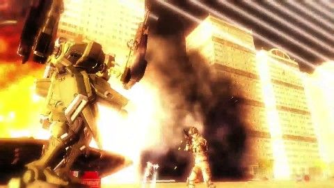 Earth Defense Force 5 Official Trailer - TGS 2016 Face off against a giant humanoid frog in the action game. September 13 2016 at 04:36PM  https://www.youtube.com/user/ScottDogGaming