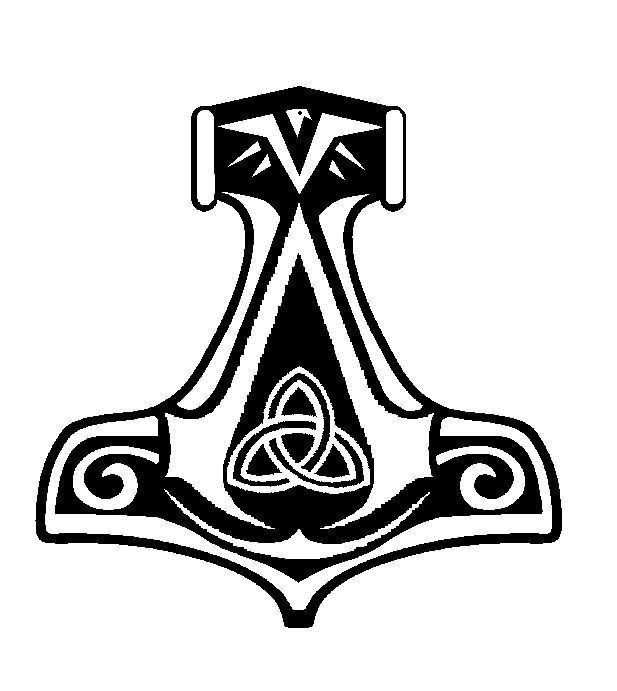 Assassin's Creed Norwegian Symbol. Trinity symbol, hammer ...