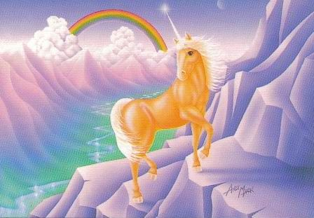 And beautiful unicorns scenery