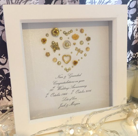 19 best 50th Anniversary images on Pinterest | Picture frame, Frames ...
