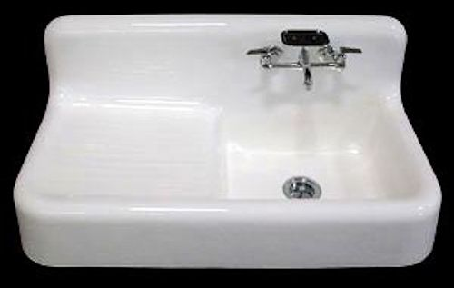 Farmhouse sinks — two sources for authentic early-1900s reproductions