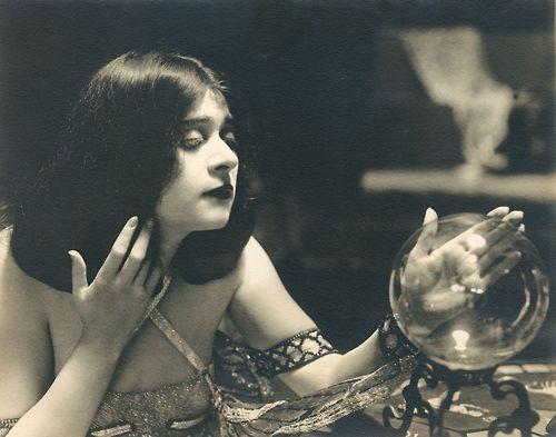 The silent film actress Theda Bara by Witzel Studios, circa 1917