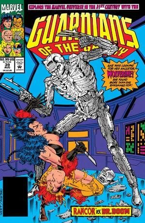 Does anyone remember this story? Im the future Dr. Doom steals Wolverines skeleton to puts his mind inside of and fights Wolverines ancestor. That guy is always up to something crazy...