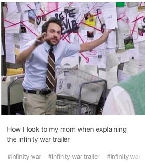yeah except with my little siblings because mom and dad don't care about marvel