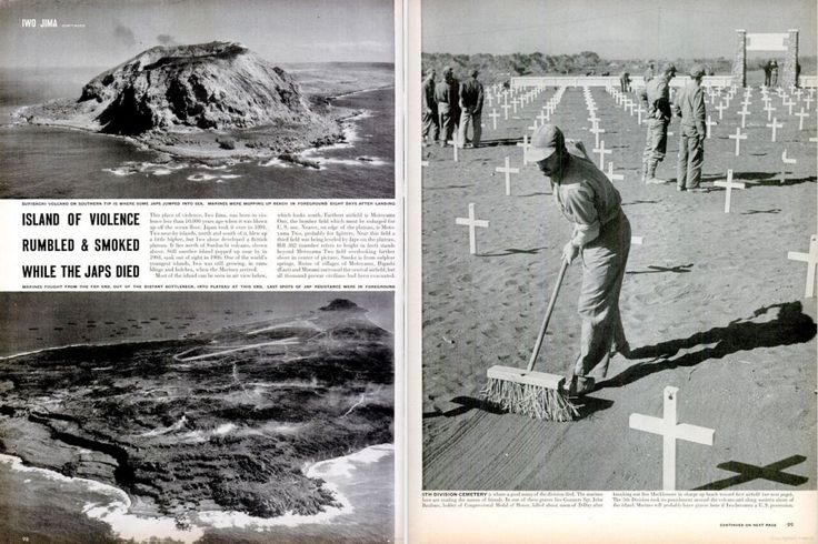 Behind the Picture: Iwo Jima, 1945 | LIFE.com