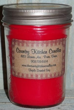 Country Kitchen Candles   Small Candle   Our Small Candles Are 8oz. In Size.