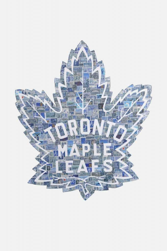 "TORONTO MAPLE LEAFS ""18 x 24"" Wood"