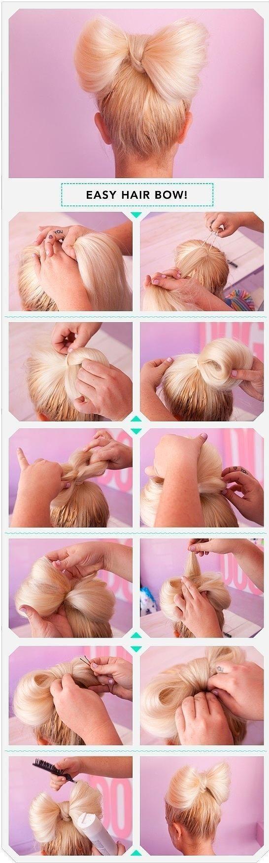 Bu saç modelleri yapmak çok basit ve pratik!