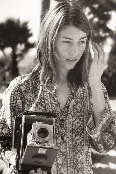 If I ever wanted to grow to be like someone, it would be Sophia Coppola :)