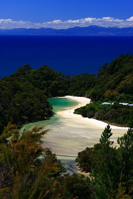 Abel Tasman National Park, New Zealand | UFOREA.org | The trip you want. The help they need.