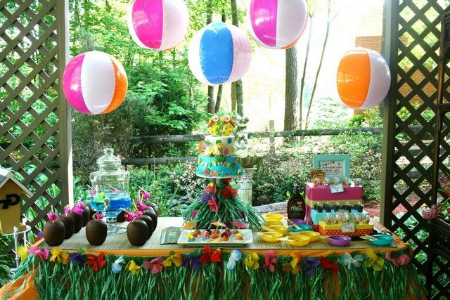 Pool Party Food Ideas For Kids Events Pinterest Pool