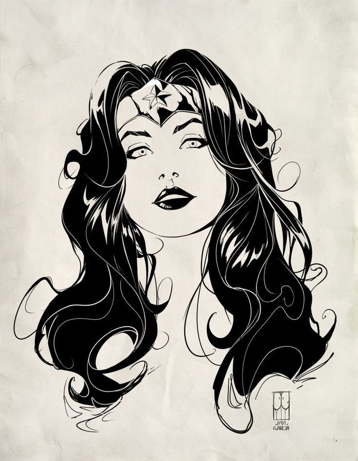 Javi García Artwork: Wonder woman