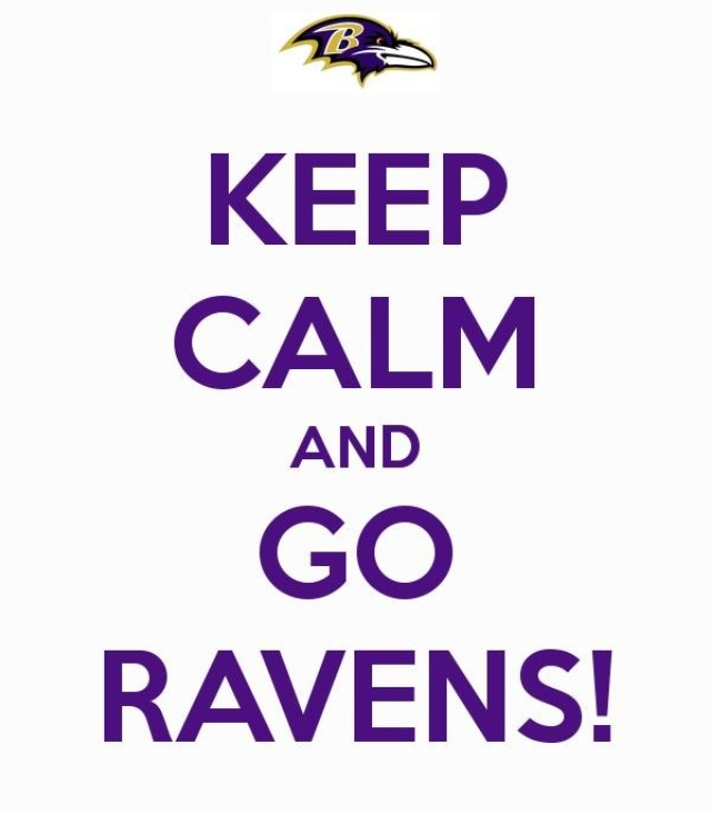 Keep Calm, Baltimore Ravens