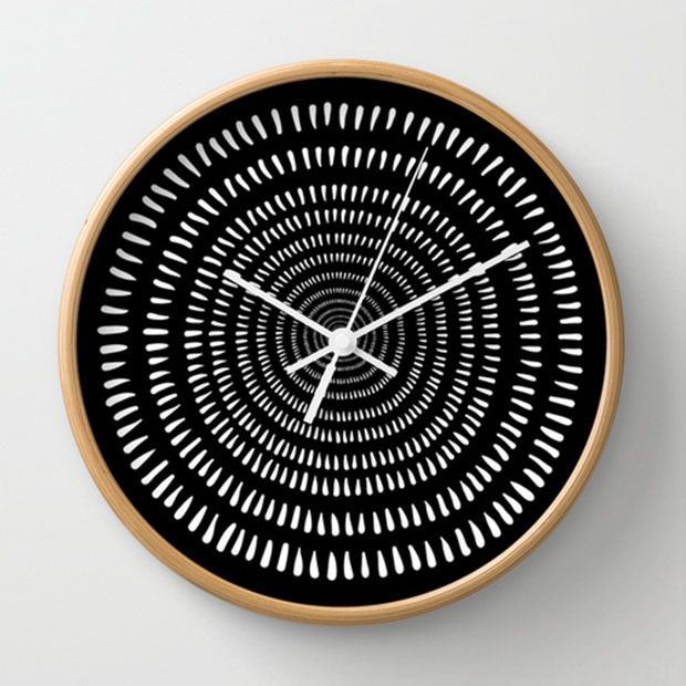 DIY inspiration-Time Warp Wall Clock
