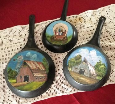 1000 Images About Painted Fry Pan On Pinterest Children