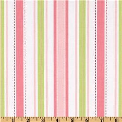 Pink and Green StripesFav Colors, Colors Combos, Fav Fabrics, Color Combos, Stripes Pink Lim, Limes Stripes, Baby'S Room, Corkboard Covers, Spices