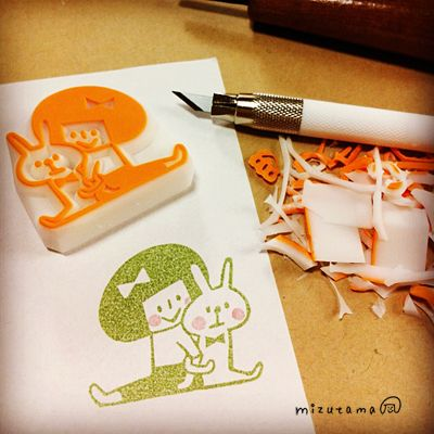 Home made rubber stamps - cheap and bespoke