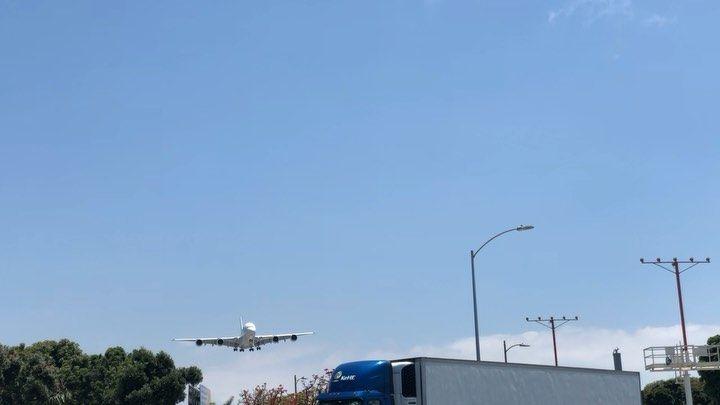 Lax Airport On Instagram That S A Big Bird Avgeek Lax Flylax Los Angeles International Airport International Airport Instagram