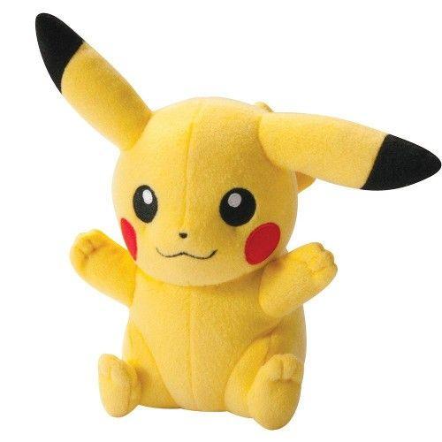 Boneco de Pelúcia Pokémon - Pikachu - Tomy