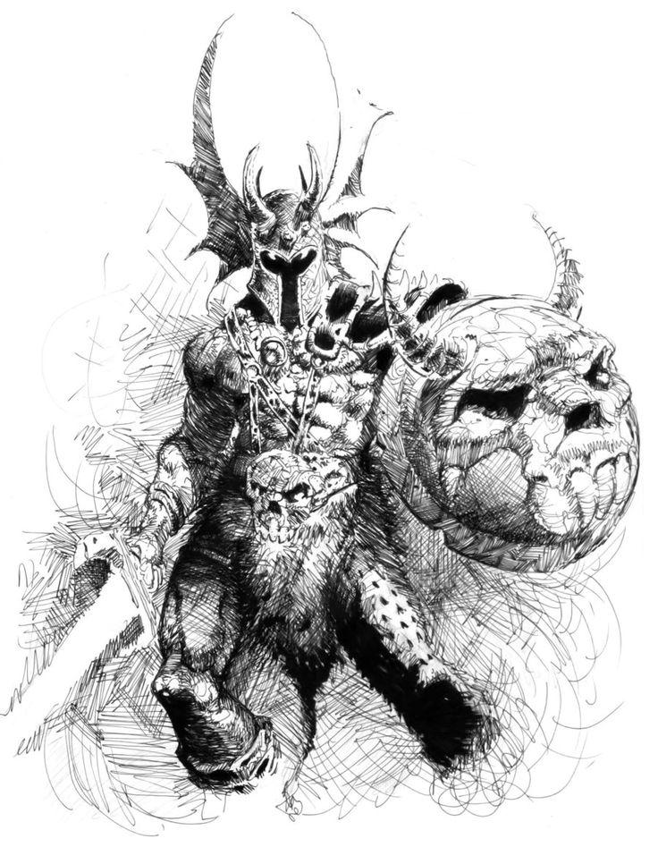 war duke sketch by dannycruz4.deviantart.com on @deviantART