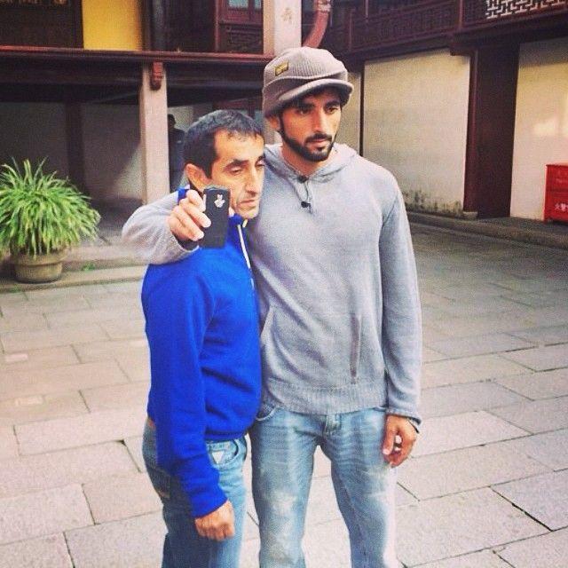 Faz3 and Uncle Saeed in China...alneyade