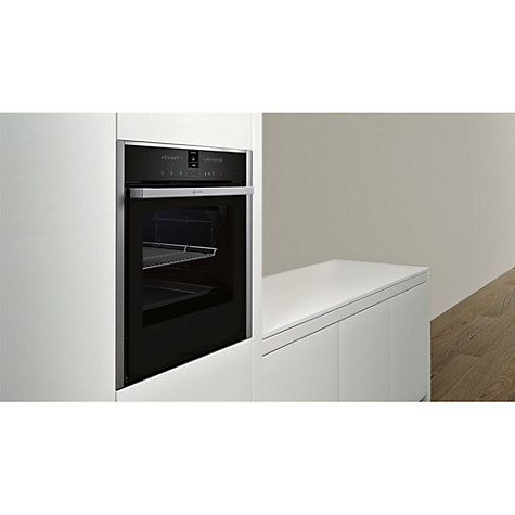 Buy Neff B57VR22N0B Slide and Hide Single Electric Oven with Steam Function, Stainless Steel Online at johnlewis.com