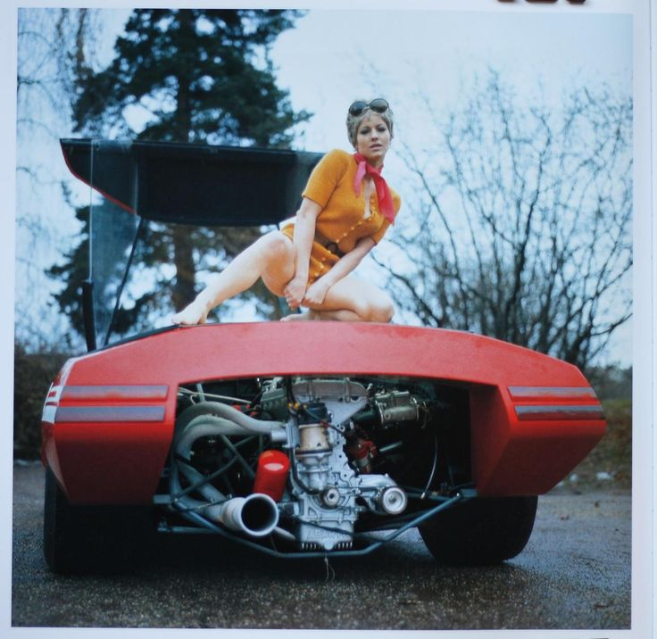 Pininfarina Fiat Abarth 2000 Scorpio concept car, ca. 1970