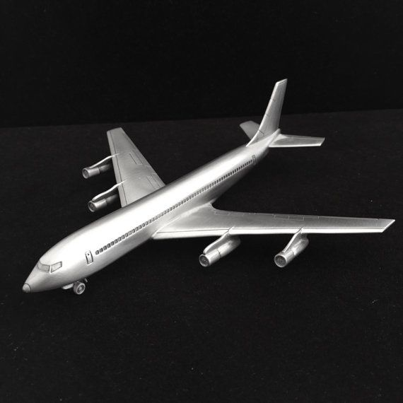 Danbury Mint pewter airplane collection Boeing by FrancinaLaCasa