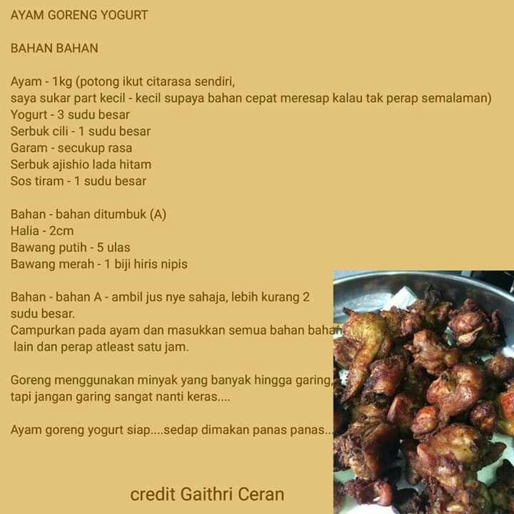 Pin Oleh Clarisa Azahra Di Resep Masakan Resep Masakan Masakan Resep