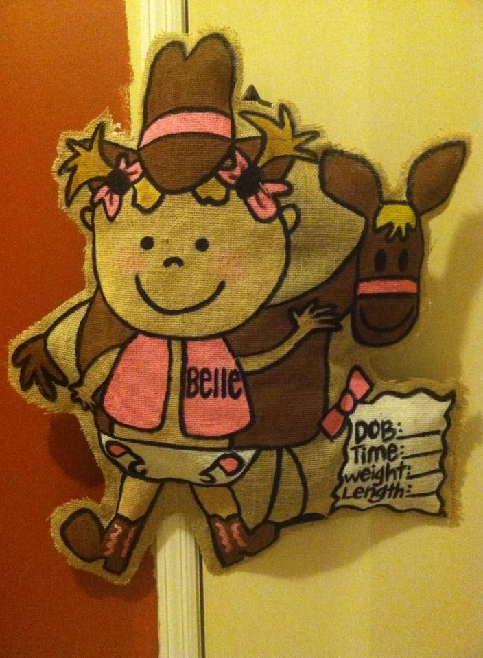 1000 Images About My Own Hand Creations On Pinterest Personalized Baby Baby Door Hangers And