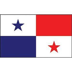 """Panama National Country Flag - 3x5foot poly by Country Flags """"O-R"""". $5.49. Express International Shipping is Global Express Mail (2-3 days). 3 Foot by 5 Foot, Indoor-Outdoor, Lightweight Polyester Flag with Sharp Vivd Colors. 2 Metal Grommets For Eash Mounting with Canvas Hem for long lasting strength. FAST SHIPPER: Ships in 1 Business Day; usually the Same Day if pmnt clears by noon CST. Express Domestic Shipping is OVERNITE 98% of the time, otherwise 2-day.. 3 foot by ..."""