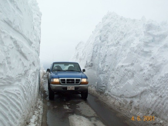 Remember the winter of 2001 in Newfoundland ? St. John's this photo was taken