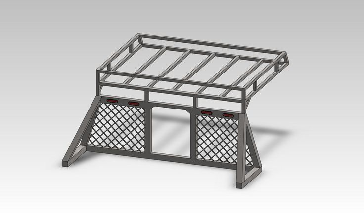 roof rack that attaches to headache rack ideas?!?!?! - Diesel Forum - TheDieselStop.com