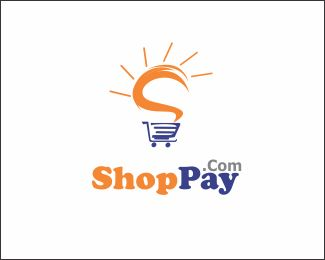 ShoPay.com Logo design - Professional logo with unique touch and dynamic feel, great for many businesses like Software developer, online shop, consulting, media, marketing, advertising, multimedia, internet services, data IT,  app development, finance, purchase, etc.<br />* Everything on the logo can be changed Price $500.00
