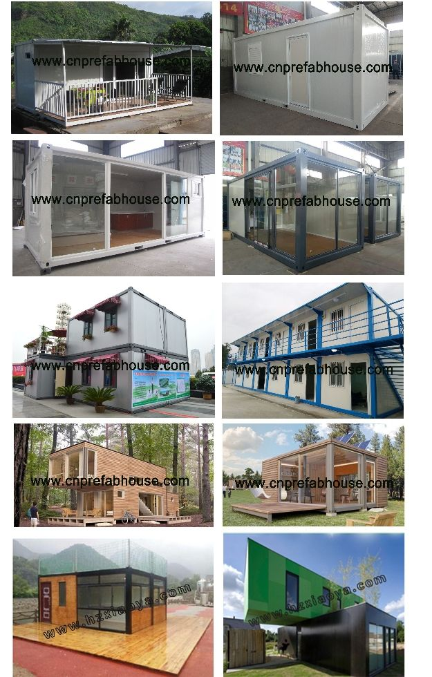 Flexible Modular House Novel Plans And Design/ Container House / Living  High Quality Used Refrigerated