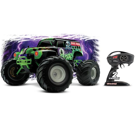 Traxxas Grave Digger 2.4GHz 1:12 RTR Electric RC Monster Truck