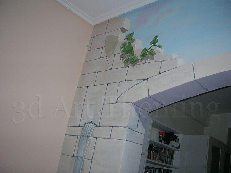 τοιχογραφία του σαλονιού