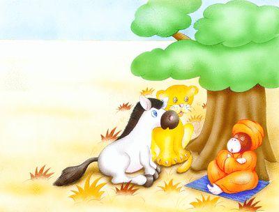 Le zèbre et le tigre - Conte sonore
